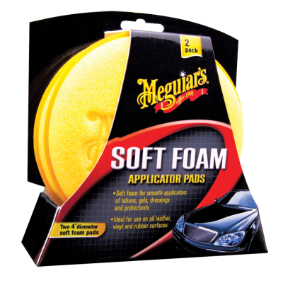 Meguiars High Tech Applicator Pad 2 pak