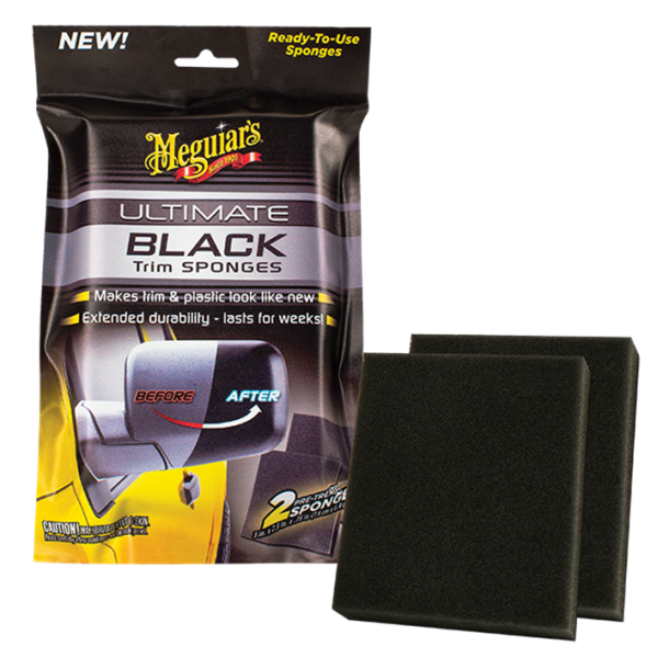 Meguiars Ultimate Black Sponges