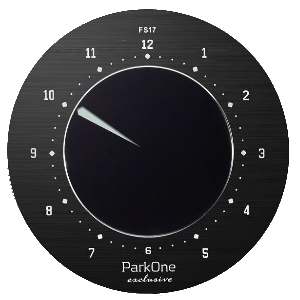 Parkone Exclusive parkeringsskive sort