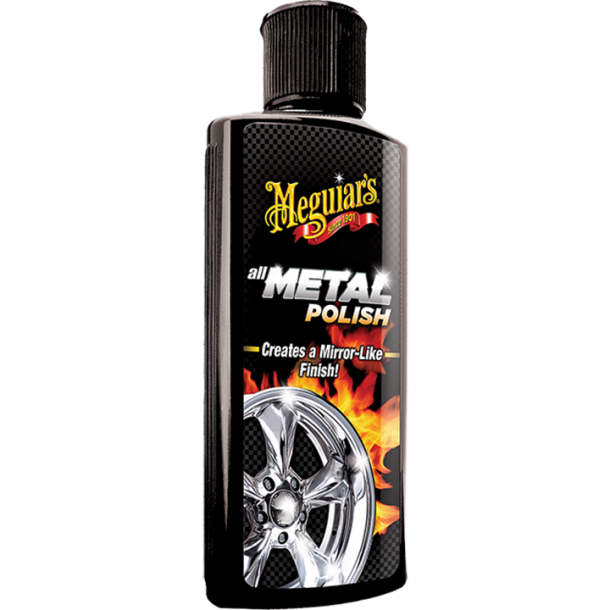 Meguiars All metal Polish Liquid 118ml - RN Bilpleje