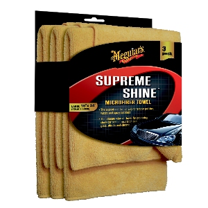 Meguiars Supreme Shine Microfibre 3 pak - RN Bilpleje