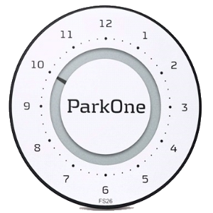 Parkone 2 Alpine White - P Skive - RN Bilpleje